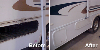 Chateau Before and After - Motor Homes